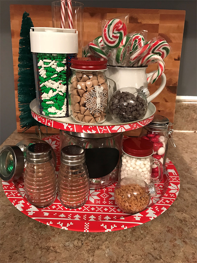 DIY Hot Chocolate and Sweets Cart with Nicole