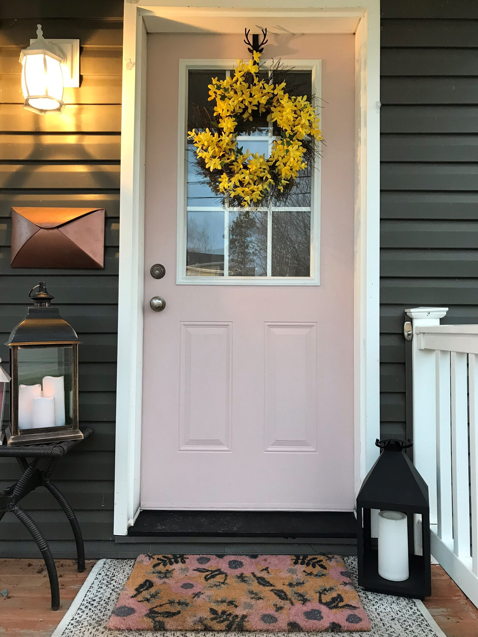 Knock, Knock? Who's There? It's Nicole's Pink Door!