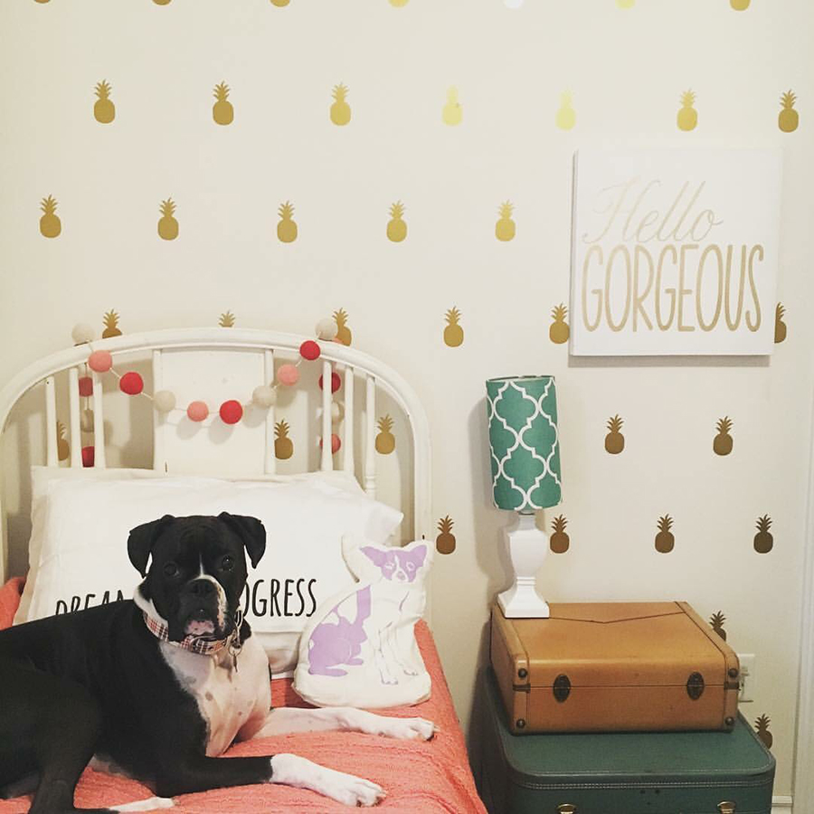 DIY Faux Wallpaper with Nicole